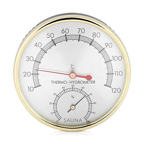 Broco Metalen Wijzerplaat Indoor Thermometer Hygrometer Hygro-thermometer Sauna Room Accessoire