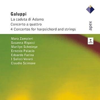 Galuppi : Concerto A Quattri, La Caduta Di Adamo & Harpsichord Concertos