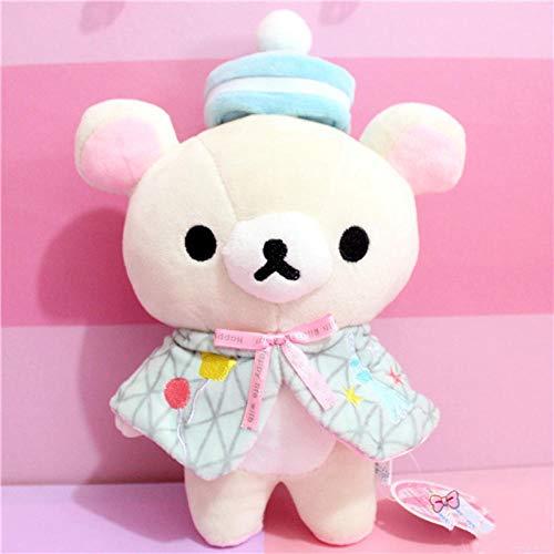 Plüschtier Rilakkuma Relax Bär Spielzeug Nette Weiche Kissen Plüsch Puppe Geschenke Für Kinder Und Mädchen 20Cm 32Cm Kawaii Standing Teddy Bear @ 32Cm_White
