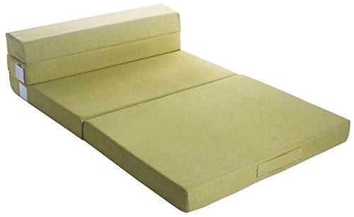 "Merax 4 Inch Memory Foam Folding Mattress and Sofa Guest Sofa Z Bed Sleeping Mattress 80"" X 60"" X 4"" (Queen)"
