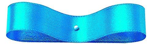 Ruban Double Face Satin 24 mm × 30 m Bleu Ciel