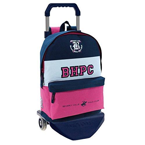 Beverly Hills Polo Club 52823M1 Mochila Escolar, 21.5 litros, Multicolor