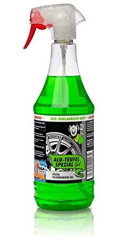 TUGA Alu-Teufel Spezial Felgenreiniger - 1 Liter - 1000 ml Sprühflasche
