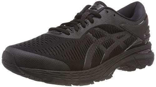 Asics Gel-kayano 25, Men's Running Shoes, Black (Black/Black 002), 6.5 UK (40.5 EU)