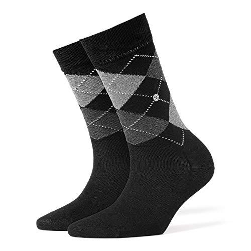 BURLINGTON Damen Socken Covent Garden - 80% Baumwolle, 1 Paar, Schwarz (Black 3000), Größe: 36-41