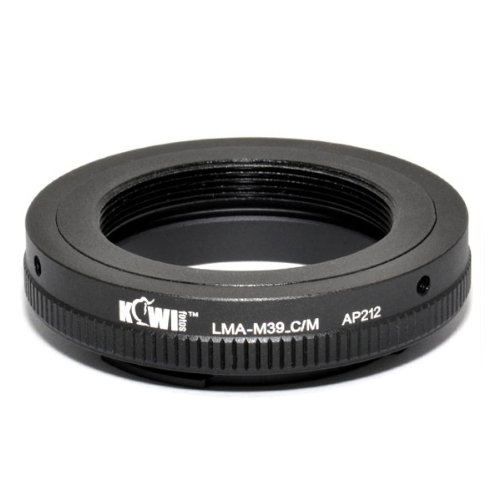 Kiwifotos lensadapter Leica M39 lens aan Canon EOS M voor Canon EOS M systeemcamera - adapter adapterring