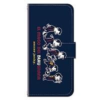 iPhoneSE (第2世代) iPhone8 iPhoneケース (手帳型) [カード収納/ミラー付き/ストラップホール] Soccer Junky (サッカージャンキー) EL MAGO CollaBorn (iPhone7/iPhone6s/iPhone6対応)