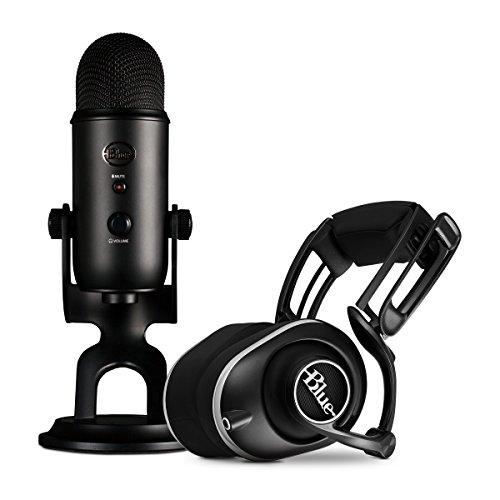 Blue Yeti mic + headphone bundles