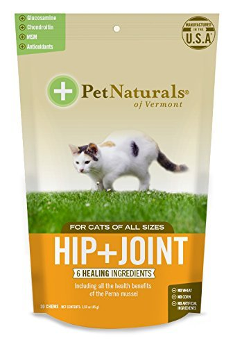 Hip + Joint Chew Supplements for Cats Size:Pack of 2