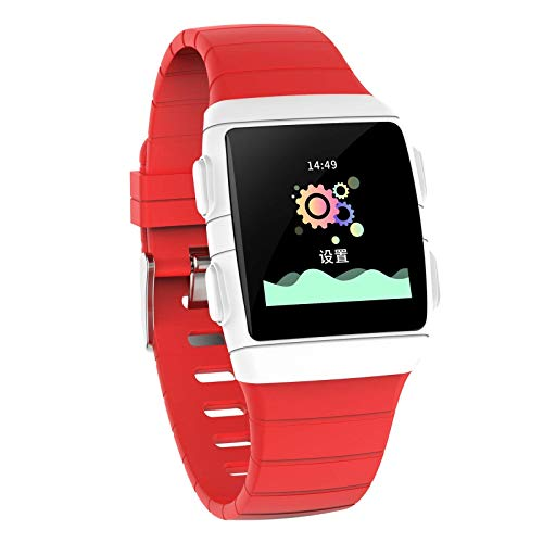 TIANYOU Smart Watch, 1.3-Inch IPS Super Dazzling Large Screen, Ip68 Waterproof and Super Battery Life. Smart Bracelet with Seven Sports Modes for Android and iOS Classic/Red