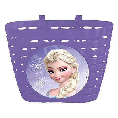 Disney Mädchen Frozen Fahrradkorb, Mehrfarbig, 20x14x14 cm