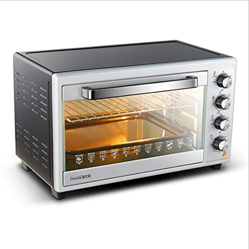 JINNIN Desktop-Heißluftofen, Kann Als Handelsüblicher Ofen Oder Haushaltsofen Verwendet Werden, 60 Liter Fassungsvermögen, 4-Schicht-Ofen, Gleichmäßiger Backen, Professioneller Ofen