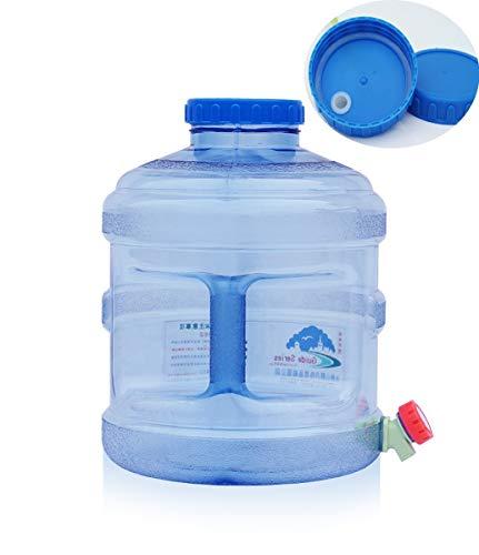 Contenedor De Agua Bidón Contenedor De Almacenamiento De Agua Con Grifo El Plastico Tanque Portador De Agua Al Aire Libre Botella De Agua Potable De Grado Alimenticio Con Dispensador Cubo De Agua Para