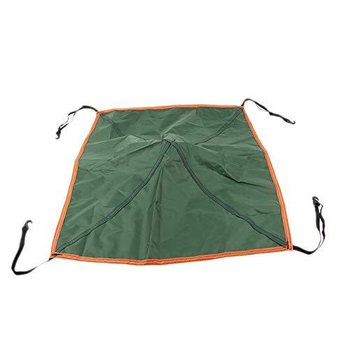 Accessori per Tende Tenda Sostituzione Top cap parapioggia Roof Vent Coperchio Superiore CanopySuitable for Esterni Forte e Robusto (Color : Green)