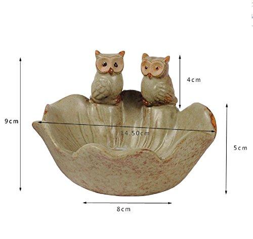 QYL vogel kat keramiek asbak pet bowl pan ornamenten huishouden woonkamer decor Cat
