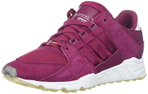 adidas Originals Women's EQT Support RF W Sneaker, Mystery Ruby/Mystery Ruby/Crystal White, 8 M US