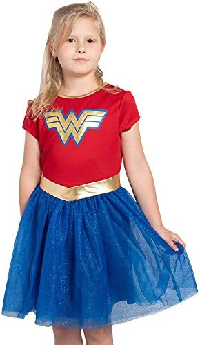 DC Comics Girls Ages 4 12 Costume Dress Up Wonder Woman Small product image