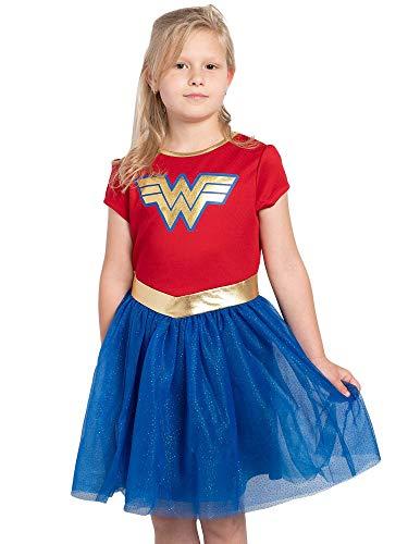 DC Comics Girls Ages 4-12 Costume Dress Up (Wonder Woman, Small)