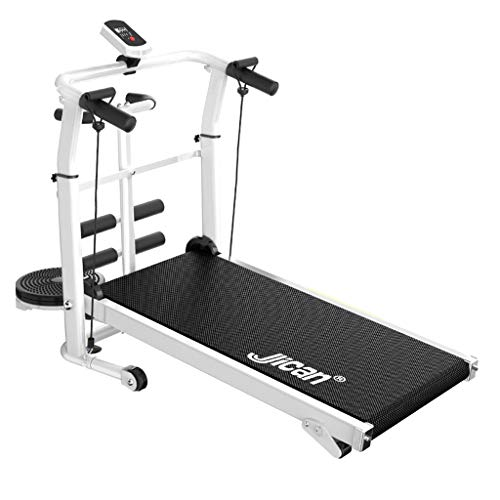Review Of Treadmills Folding Mechanical Multi-Function Sit-up Running Machine Fitness Equipment (Col...