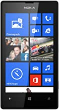 Nokia Lumia 520 GSM Unlock 3G Phone, 4-Inch Touch Screen, 5MP 720P Camera, Windows Phone - Black (International Version)