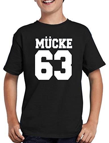 Mücke 63 T-Shirt Kinder 110/116 Schwarz