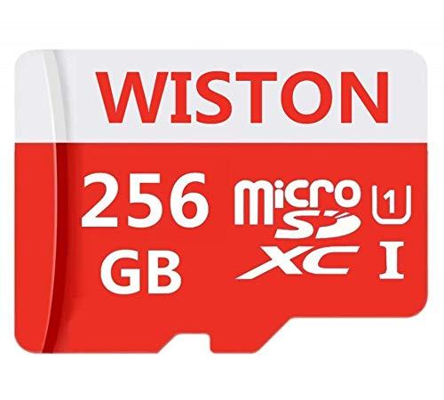Micro memoria classe 10 SDXC Card 256 GB Micro SD Card C10 schede di memoria TF Card Transflash with Free SD Adapter for Phone/Camera (256 GB)