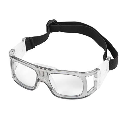 LIOOBO Gafas de Bicicleta Golf Fútbol Gafas de Baloncesto Gafas Protectoras Resistente a los Rayos UV A Prueba de Golpes Gafas Deportivas a Prueba de Viento Gafas de Seguridad