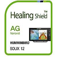 HUMMINBIRD SOLIX 12用スクリーンプロテクター、アンチグレアマットスクリーンプロテクターガード、ヒーリングシールドアウトドアフィルム