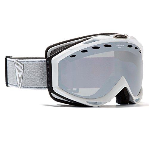 Alpina Skibrille Cybric HM Mirror Doubleflex white shiny