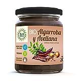 SOLNATURAL Crema DE ALGARROBA Y AVELLANAS Bio 200 g, Estándar, Único