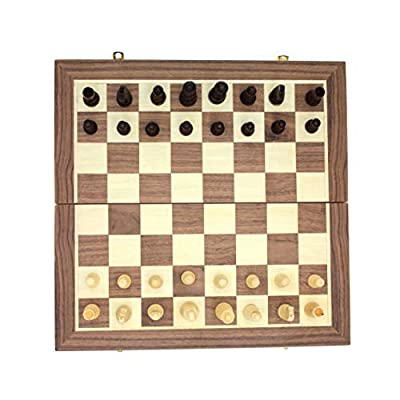 Amazon - 30% Off on Magnetic Wooden Chess Set, 15.6 x 15.6 Inches Portable Large