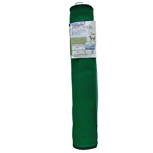 東京戸張 バリヤーくん(防獣ネット・合鴨ネット) 12mm目 1.2m×50m [緑色/ラッセル織] 535151