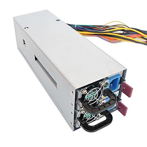 KKmoon 2600W Fuente de alimentación conmutada 94% de alta eficiencia Máquina de minería con 12 tarjetas gráficas de alta gama 24 interfaces gráficas
