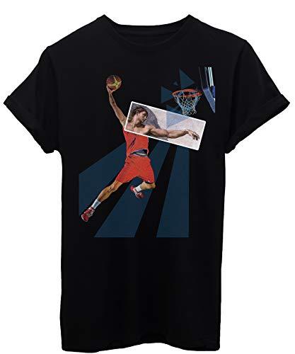 iMage T-Shirt Basket Mystic Giudizio Universale - Sport - Bambino-XL-Nera