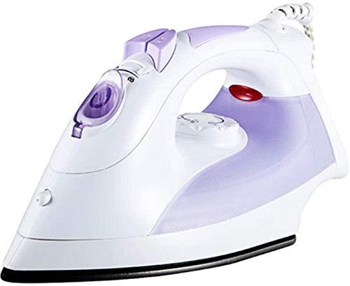 Stoomstrijkijzer Snelle verwarming Stoomstrijkijzer Spuit met twee snelheden Krachtig elektrisch strijkijzer Home Hand Paars Draagbaar voor gezinskamers