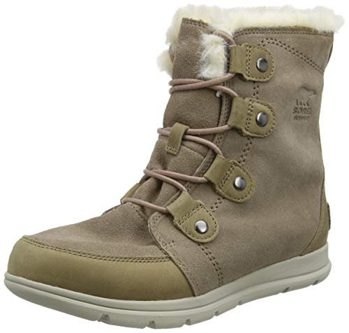 Sorel Damen-Stiefel, SOREL EXPLORER JOAN, Braun (Ash Brown), Größe: 39,5