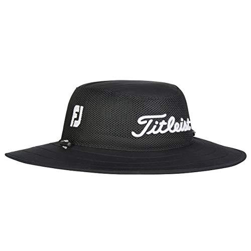 Titleist Tour Aussie Mesh Hat - 01 Black/White