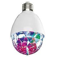 Und die Party kann beginnen! Tolle Lichteffekte für unvergessliche Partys Rotierender Disco-Lichteffekt Für alle gängigen Lampen mit E 27-Fassung