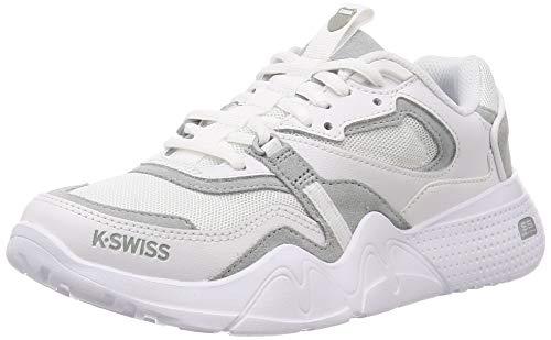 K-Swiss CR-terrati, Zapatillas Mujer, Blanco (White/White 101), 37 EU