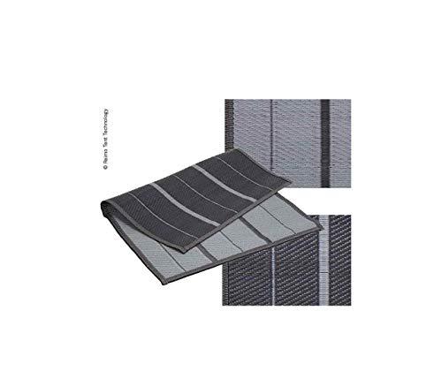 RTENT Markisen- oder Zeltteppich Villa Grey 2,5x3,4m 100% PP inkl. Transporttasche