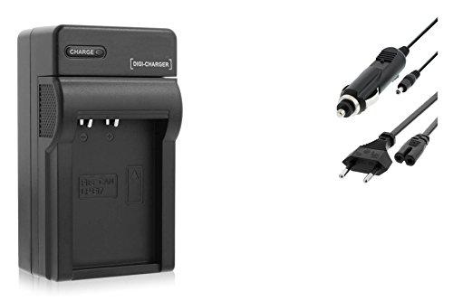 Ladegerät (Netz/KFZ) für Canon LP-E17 / Canon EOS 77D, 200D, 750D, 760D, 800D / EOS M3, M5, M6