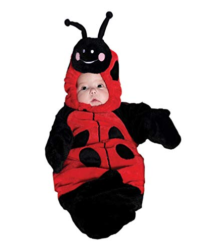 Horror-Shop sac costume de coccinelle bébé