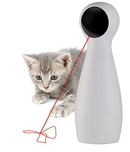 PetSafe FroliCat Bolt Laser Katzenspielzeug, Elektrisches Katzenspielzeug, Automatischer Laserpointer, Interaktives Katzenspielzeug, Katzenspielzeug Laserpointer