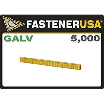 18GA Staples Stainless Steel Narrow Crown 1//4 x 3//4 Length SS 304 1,000-Pack Senco L Type PREBENA E19CRF