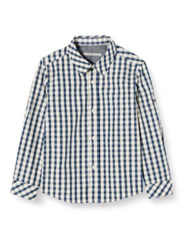 Mexx Jungen 952104 Hemd, Mehrfarbig (Checked 300032), (Herstellergröße: 104)