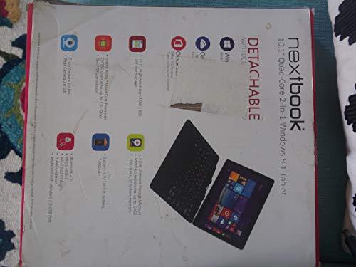 "Efun Nextbook 10.1"" Quad Core Windows Tablet with keyboard - Black (EFMW101T)"