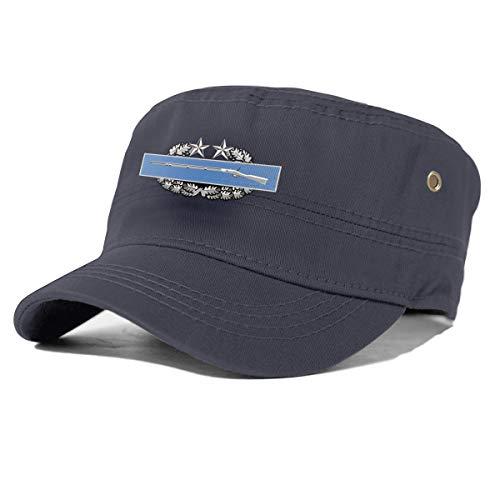 Combat Infantry Badge (CIB) 3rd Award Badge Cadet Army Cap Military Cap Flat Top Cap Dad Cap Baseball Cap Navy