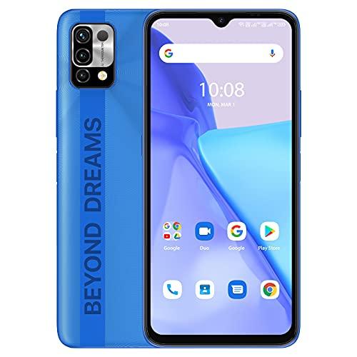 UMIDIGI A11 Teléfono móvil, (4+128GB) 6.53' HD+ Pantalla Completa Smartphone Desbloqueado, Batería 5150mAh Teléfono Android con Dual SIM (Global 4G LTE) Android 11 (Frost Grey, 4+128G)