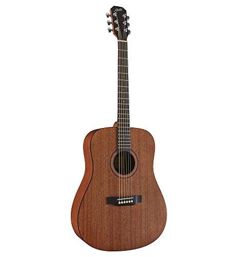 Austin Guitars Acoustic Dreadnought, Satin Mahogany