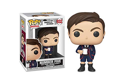 Funko Pop!  TV: Umbrella Academy - Number Five w / Chase (les styles peuvent varier), multicolore, standard